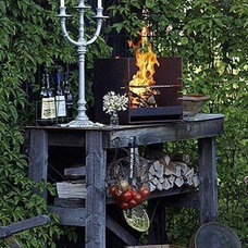 Eclectic Outdoor Grills by Robeys