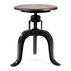 Burnham Adjustable Height Table Stool