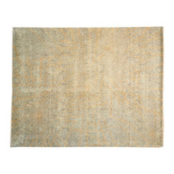 1800-Get-A-Rug - Transitional Agra Modern Tone On Tone Hand Knotted Rug Sh13477 - About Modern & Contemporary