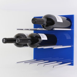 New Product! XY Modular Wine Rack Vin de Garde Modern Wine Cellars - Wine storage needn't mean a stodgy wrought iron table holding bottles in its base or an ostentatious cellar set-up. That's where the Vin de Garde XY Series comes in. This Fab debut exclusive is a modular wine wall—a great looking, super efficient design for lovers of wine and beautifully organized interiors.