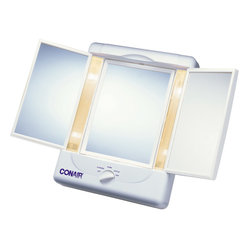 Illumina™ 2-Sided-Lighted Makeup Mirror