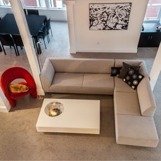 Contemporary Living Room by Planika Fires