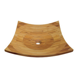 MR Direct 892 Bamboo Vessel Sink - The 892 Bamboo Vessel Sink is ...
