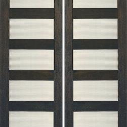 "RB-03 Interior Mahogany Contemporary Matte Line Glass Double Door - SKU#RB-03-2BrandAAWDoor TypeInteriorManufacturer CollectionInterior Doors RUBIDoor ModelDoor MaterialWoodWoodgrainMahoganyVeneerPrice700Door Size Options2(24"") x 80"" (4'-0"" x 6'-8"")  $02(28"") x 80"" (4'-8"" x 6'-8"")  +$202(30"") x 80"" (5'-0"" x 6'-8"")  +$202(32"") x 80"" (5'-4"" x 6'-8"")  +$202(36"") x 80"" (6'-0"" x 6'-8"")  +$402(24"") x 96"" (4'-0"" x 8'-0"")  +$1602(28"") x 96"" (4'-8"" x 8'-0"")  +$1802(30"") x 96"" (5'-0"" x 8'-0"")  +$2002(32"") x 96"" (5'-4"" x 8'-0"")  +$2002(36"") x 96"" (6'-0"" x 8'-0"")  +$200Core TypeSolidDoor StyleModernDoor Lite Style5 LiteDoor Panel StyleHome Style MatchingContemporary , Craftsman , Bungalow , Gulf CoastDoor ConstructionEngineered Stiles and RailsPrehanging OptionsPrehung , SlabPrehung ConfigurationDouble DoorDoor Thickness (Inches)1 3/8 , 1 3/4Glass Thickness (Inches)1/4Glass TypeSingle GlazedGlass CamingGlass FeaturesTemperedGlass StyleMatte LineGlass TextureMatte LineGlass ObscurityModerate ObscurityDoor FeaturesDoor ApprovalsFSCDoor FinishesDoor AccessoriesWeight (lbs)620Crating Size25"" (w)x 108"" (l)x 52"" (h)Lead TimeSlab Doors: 7 daysPrehung:14 daysPrefinished, PreHung:21 daysWarranty1 Year Limited Manufacturer WarrantyHere you can download warranty PDF document."