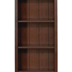 Ballard Designs - Tuscan Flush Bookcase - Crafted of wood & wood veneers, our Tuscan Bookcase offers the look of a custom built-in at a fraction of the cost. Reeded detail and heavy crown molding add to the rich antique feel. Each Bookcase features one fixed shelf, three adjustable shelves and adjustable levelers.