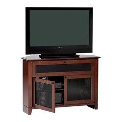 BDI - Novia Corner TV Stand, Single Wide - The Novia Corner TV Stand is designed to make the ...