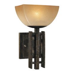 """Minka Lavery - Minka Lavery ML 6270 1 Light 7.25"""" Width Wall Sconce from the Lineage Collection - Single Light 7.25"""" Width Wall Sconce from the Lineage CollectionFeatures:"""