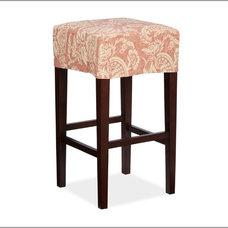 Napa Backless Barstool & Slipcovers | Pottery Barn