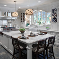 A twist on the white kitchen - not final but in the home stretch! - Kitchens For