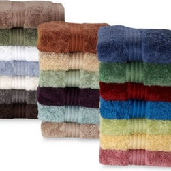 Palais Royale - Palais Royale Hotel Bath Towel - These luxurious towels are made with Supima cotton loops, providing ultra absorbency and a comforting, soft touch. The rich colors and thick consistency turn any bathroom into a relaxing retreat.