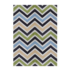 Rug - ~8 ft' x 11 ft' Large Green Transitional Living Room Area Rug, Hand Woven - Living Room Hand-tufted Shaggy Area Rug