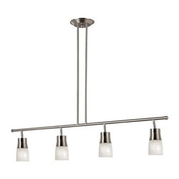Trans Globe Lighting - Trans Globe Lighting W-804 BN Track Light In Brushed Nickel - Part Number: W-804 BN