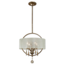 Transitional Pendant Lighting by South Shore Decorating Shop