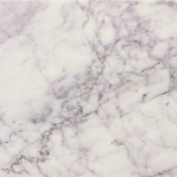 Tile Circle - Carrara Marble Polished Tiles, 12x12 - Grade 1, first- quality natural Italian Carrara Marble tile for wall and floor use