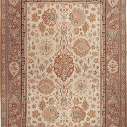 Momeni - Momeni Chambord Sm88 Beige Rug - Chambord is a truly unique collection of Aubusson-Soumaks, rich in color and design. Hand-woven of 100% wool, Chambord draws inspiration from various ruling empires throughout Europe and the Middle East and architecture throughout these regions. Completely reversible.