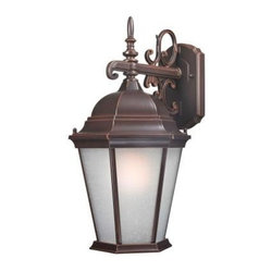 Design Outdoor Lanterns. Traditional Wall-Mount 18 in. Outdoor Old Bronze Lanter