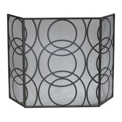 Cyan Design - Cyan Design 01350 Orb Fire Screen - Cyan Design 01350 Orb Fire Screen