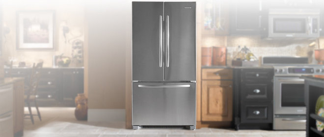 Modern Refrigerators And Freezers Kitchen Aid KFCS 22EVMS Refrigerator