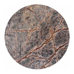 Save the Date Platter - This mesmerizingly intricate and gorgeous platter is an absolute gem. Made of Forest Marble, a formation that dates back to the Middle Jurassic period in Europe, this platter needs to be on the guest list at your next get-together.