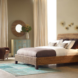 The Khazana- Beds you might like! - Grass Roots Lanai Banana Leaf Queen Bed