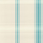 Decorline - Oskar Aqua Plaid Wallpaper - This pretty plaid is perfect for your kitchen or other favorite relaxed room. The surprising hit of color gives tradition a refreshing twist.