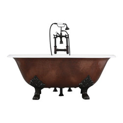 "Penhaglion - The Croyland 61"" Cast Iron Double Ended Tub Package from Penhaglion - Product Details"