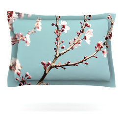 "Kess InHouse - Bree Madden ""Blossoms"" Pillow Sham (Cotton, 40"" x 20"") - Pairing your already chic duvet cover with playful pillow shams is the perfect way to tie your bedroom together. There are endless possibilities to feed your artistic palette with these imaginative pillow shams. It will looks so elegant you won't want ruin the masterpiece you have created when you go to bed. Not only are these pillow shams nice to look at they are also made from a high quality cotton blend. They are so soft that they will elevate your sleep up to level that is beyond Cloud 9. We always print our goods with the highest quality printing process in order to maintain the integrity of the art that you are adeptly displaying. This means that you won't have to worry about your art fading or your sham loosing it's freshness."