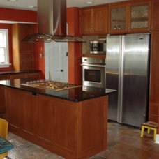 Traditional Kitchen Cabinetry by Randy Johnson Custom Furniture