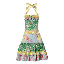 Alexis Apron - Do you have a friend who loves to cook and loves a quirky '50s housewive, I Love Lucy kind of look with a twist? She'll love this darling hodge-podge of vintage-y fabrics on this apron so much, she'll give it a place of honor to hang in her kitchen.