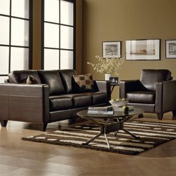 Leather Sofas for the Living Room or Family Room - Leather Seating...