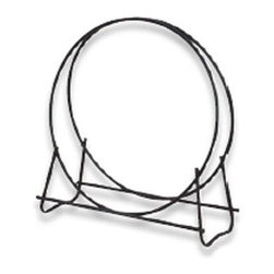 "Blue Rhino - UF Log Hoop 40in Black - Uniflame W-1881 43"" High 40"" Black Diameter Log Hoop... Log hoop stores wood and looks neat and clean as well.  This item cannot be shipped to APO/FPO addresses. Please accept our apologies."