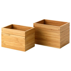 modern bath and spa accessories by IKEA