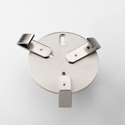Cyan Design - Wall Hanger Bracket - Wall hanger bracket - satin nickel