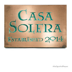 """Modern Wedding Plaque 12.5"""" x 8.75"""" in Recessed Bronze Verdi - Celebrate and remember this special day with our Wedding Plaque. Wedding Day or Wedding Anniversary, this is a great gift idea."""