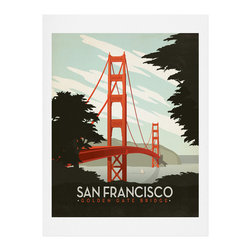 DENY Designs - DENY Designs Anderson Design Group San Francisco Art Print - Finally an affordable wall art option! Order one statement print or live on the edge and dream up an entire gallery wall. And whether you frame it or hang it as-is, your walls will be big on inspiration while being kind on your pocketbook.