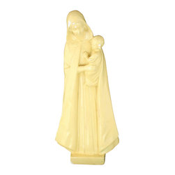 EuroLux Home - 1940 Statue Jesus Christ Madonna Chalkware - Product Details