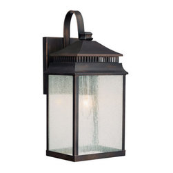 Capital Lighting - Capital Lighting 9111 1 Light Outdoor Wall Lantern from the Sutter Creek Collect - Capital Lighting 9111 Sutter Creek Collection 1 Light Outdoor Wall LanternFrom the Sutter Creek Collection, this stylish single light outdoor wall lantern will provide ample lighting.Features: