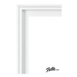 EnduraClad® Exterior Finish in Classic White - Available on Pella Architect Series® and Designer Series® wood windows and patio doors, EnduraClad exterior finishes offer 27 standard and virtually unlimited custom color options.
