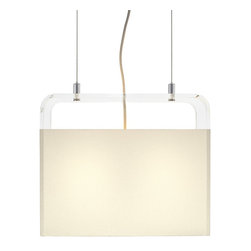 Pablo Design - Tube Top Pendant Light - Tube Top Pendant Light by Pablo Designs