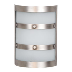 Teiber - Teiber Contemporary Door Bells and Chime X-TP-5041HC - Metal chime with frosted;white glass, Pewter