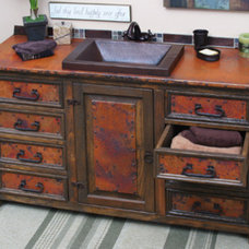 Eclectic Bathroom Vanities And Sink Consoles by HomeThangs