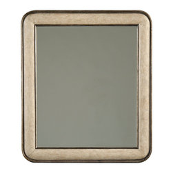 Stanley Furniture - Coastal Living Resort Pacific Pointe Landscape Mirror - Sandy Linen Finish - From a distance, our Pacific Pointe Landscape Mirror appears to be the embodiment of simplicity. But upon closer inspection, it quickly becomes evident that this looking glass has some serious design chops. The antique pewter trim around the outside and inside of the wooden frame give a nod to the mirror's maritime inspiration. And the rectangular shape give you the versatility of two hanging options to fit any space. No, this mirror may seem simple, but it is actually a complex piece of art, just ask it. And don't be surprised if it answers you. Wood and metal frame. Made to order in America.
