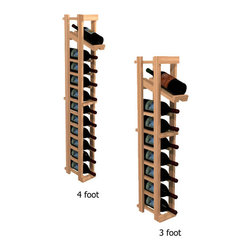 "Wine Cellar Innovations - One Column with Display Winemaker Series Individual Bottle Kit Wine Rack in Rust - Each wine bottle stored on this one column individual bottle wine rack is individually cradled with a built in display row to show off your wine labels. These wine racks must be mounted 1 1/2"" off the wall to ensure proper wine bottle stability. Assembly Required."