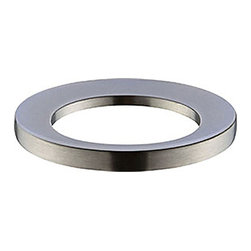 None - Avanity Brushed Nickel Mounting Ring for Above-counter Vessel Sink - Complete your bathroom with this mounting ring.  The mounting will fit above-counter vessel sinks.