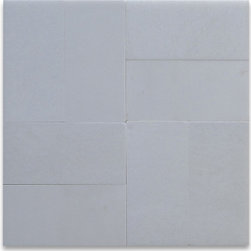 """Stone Center Corp - Thassos White Marble Subway Tile 3x6 Polished - Premium grade Thassos White Marble tile 3"""" width x 6"""" length x 3/8"""" thickness"""