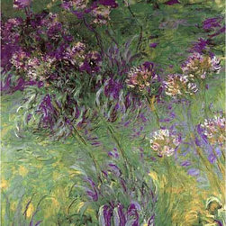 YGC - Claude Monet 'Little Purple Flower' Canvas Print Art - Artist: Claude MonetTitle: Little Purple FlowerProduct type: Gallery-wrapped canvas art