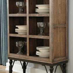 Signature Design by Ashley Tripton Medium Brown Contemporary Dining Room Server -
