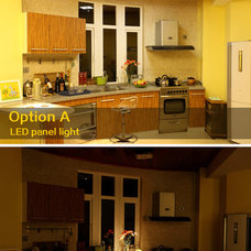 Traditional Kitchen Island Lighting by LEDing the life