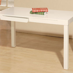 None - Student Desk White - Artlane desk is perfect for your student's study areaThis student desk features two drawers that can hold art and writing suppliesMake school work a little more enjoyable with this addition to your home decor