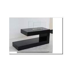 "Deco - Modern Ventless Free Standing Ethanol Fireplace - "" DECO ""  Modern Free Standing Ventless Ethanol Fireplace"